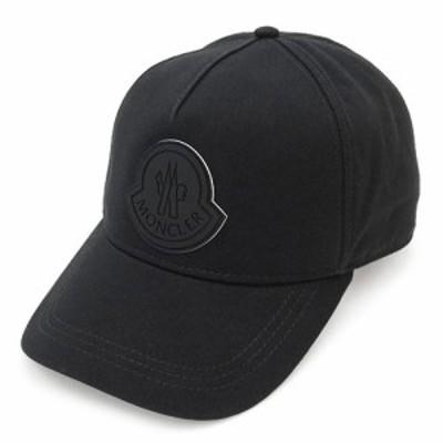 モンクレール キャップ 3B76300 04863 999 帽子 ベースボールキャップ ブラック 黒 MONCLER BERRETTO BASEBALL 【2021年春夏新作】