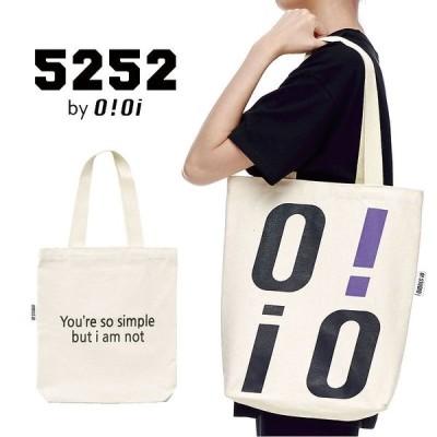 [OiOi] ECO BAG エコバック 2way ショルダーバッグ 斜めがけ ボディバッグ a4 トートバッグ レディース メンズ 韓国ファッション