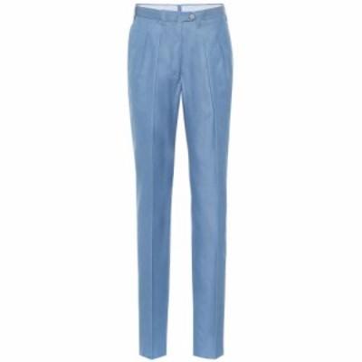 ジュリバ ヘリテージ コレクション Giuliva Heritage Collection レディース ボトムス・パンツ The Husband straight cotton pants Dark
