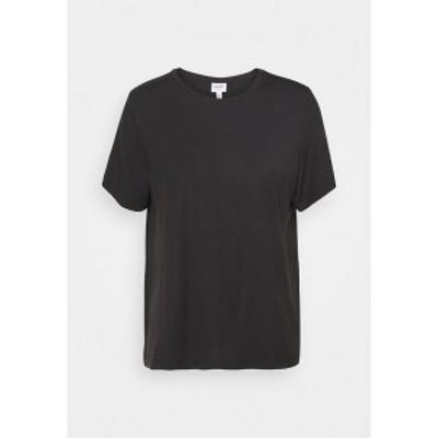 ヴェロモーダ レディース Tシャツ トップス VMAVA - Basic T-shirt - black black