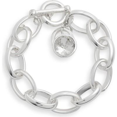 カリーンサルタン KARINE SULTAN レディース ブレスレット ジュエリー・アクセサリー Chain Link Bracelet Silver