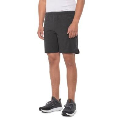 アシックス ASICS メンズ フィットネス・トレーニング ショートパンツ ボトムス・パンツ Side Band Training Shorts - 7 Steel Grey