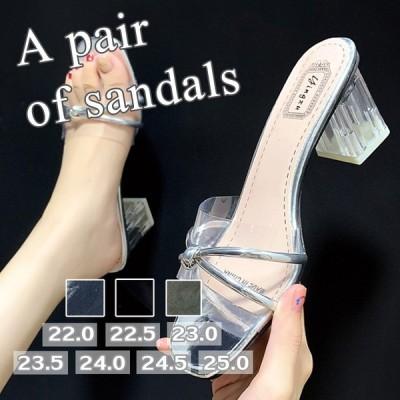 パンプス ミュール サンダル ハイヒール レディース パーティー ミュールサンダル 結婚式 靴 美脚 シューズ 上品 おしゃれ