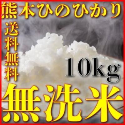 米 10kg 九州 熊本県産 ひのひかり 無洗米 令和元年産 ヒノヒカリ 送料無料 5kg2個 精白米 くまもとのお米