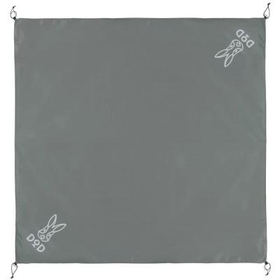 DOD(ディーオーディー) グランドシート(3人用)190cm×190cm GS3-565-GY