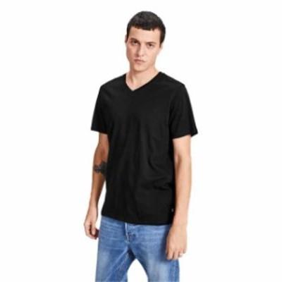 jack---jones ジャック & ジョーンズ ファッション 男性用ウェア Tシャツ jack-&-jones jjeplain-v-neck