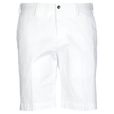 PT Torino バミューダパンツ ホワイト 52 コットン 96% / ポリウレタン 4% バミューダパンツ