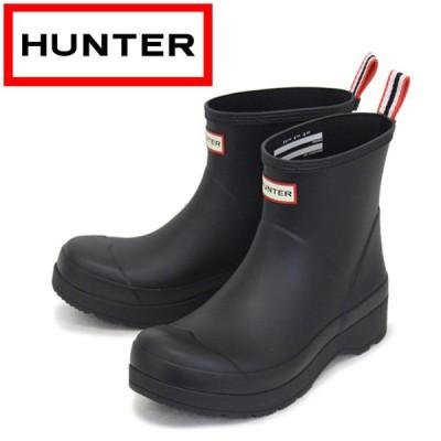 HUNTER (ハンター) MEN'S MFS9088RMA ORIGINAL PLAY BOOT SHORT メンズ オリジナル プレイブーツ ショート BLACK HU213
