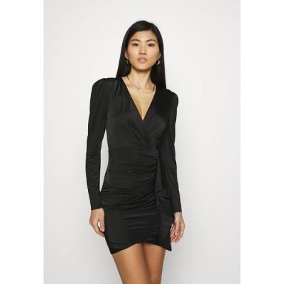 ゲス ワンピース レディース トップス CHARMIAN DRESS - Jersey dress - jet black