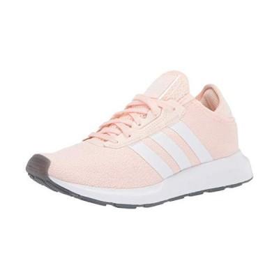 adidas Originals Women's Swift Essential Sneaker, Pink Tint/White/Silver, 11