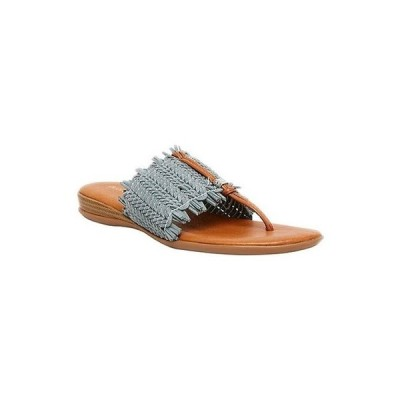 アンドレア アース レディース サンダル シューズ Niviya Woven Stretch Thong Slide Sandals