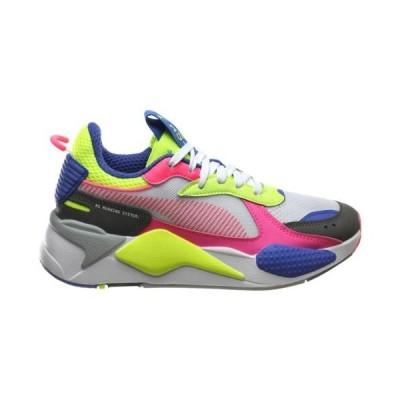 (取寄)プーマ レディース シューズ プーマ RS-XWomen's Shoes PUMA RS-XWhite Fluo Pink Yellow Alert