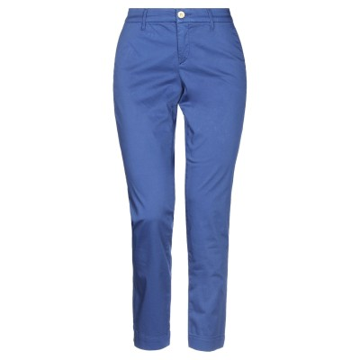 ジェッカーソン JECKERSON パンツ ブルー 27 コットン 97% / ポリウレタン 3% パンツ