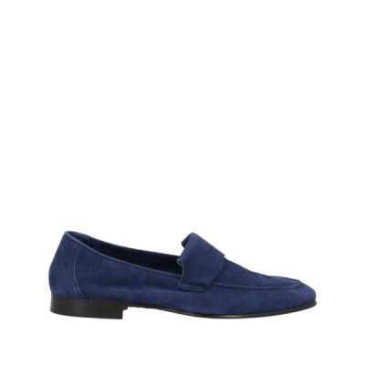 アンドレア ヴェントゥーラ ANDREA VENTURA FIRENZE メンズ ローファー シューズ・靴 loafers Dark blue