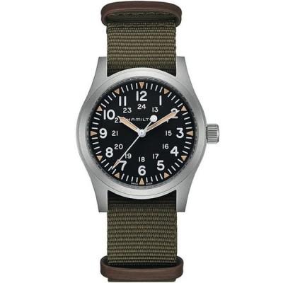ハミルトン メンズ 腕時計 アクセサリー Khaki Field Mechanical NATO Strap Bracelet Watch