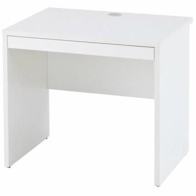 ノルム 木製デスクII W800xD600 引出付き ホワイト Z-RFPLD-0860W2-D アールエフヤマカワ RFyamakawa デスク 机 事務用机 オフィス用デスク SOHO オフィス家具