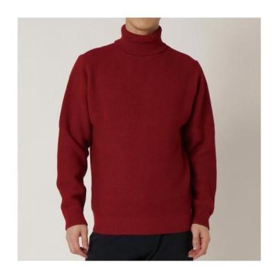 ミズノ公式 ブレスサーモハイネックセーター メンズ レッド