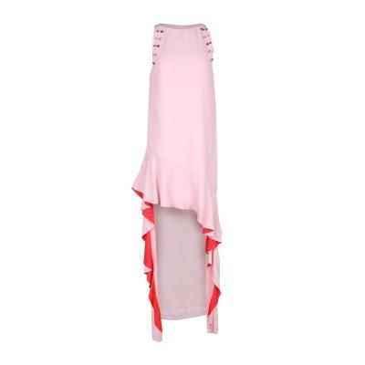 ピンコ PINKO ロングワンピース&ドレス ピンク 40 100% レーヨン ロングワンピース&ドレス