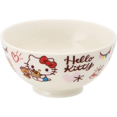 SKATER スケーター 茶碗 陶器製 陶製 ライスボウル 子供用 250ml キティ おやつタイム サンリオ CHRB1 (プレゼント 入園 入学 入園祝い 入学祝い 入学準備)