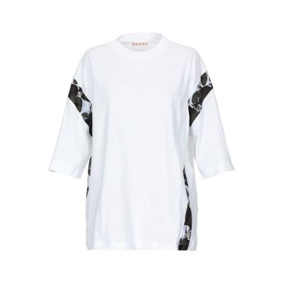 マルニ MARNI T シャツ ホワイト 40 コットン 100% T シャツ