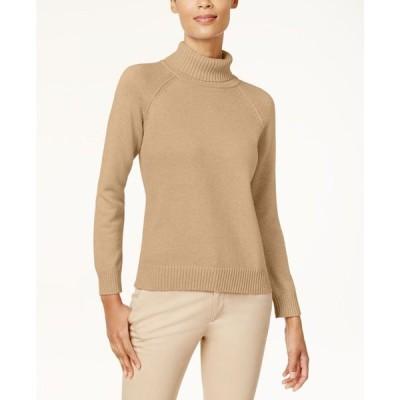 ケレンスコット レディース ニット・セーター アウター Cotton Turtleneck Sweater