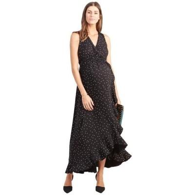 イングリッド&イザベル レディース ワンピース トップス Maternity Racerback Ruffle Skirt Dress
