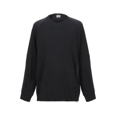 シーピーカンパニー C.P. COMPANY スウェットシャツ ブラック M コットン 100% スウェットシャツ