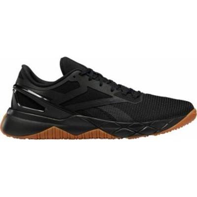 リーボック メンズ スニーカー シューズ Reebok Men's NanoFlex TR Training Shoes Black/Gum