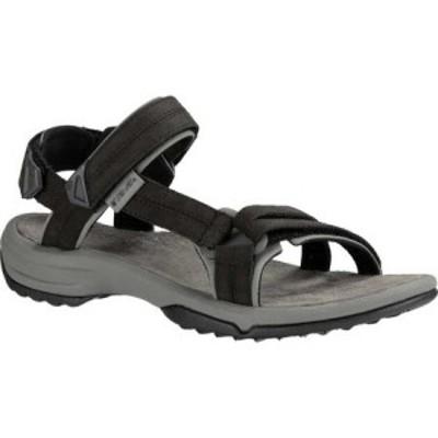 テバ Teva レディース サンダル・ミュール シューズ・靴 Terra Fi Lite Leather Active Sandal Black Leather