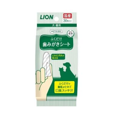 ライオン商事 ■ ライオン ペットキッス歯みがきシート30枚