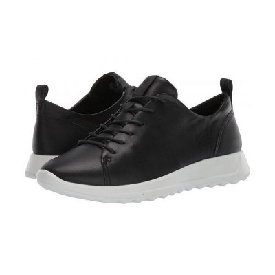 ECCO エコー レディース 女性用 シューズ 靴 スニーカー 運動靴 Flexure Runner Tie - Black