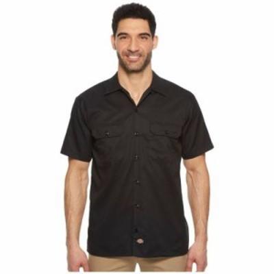 ディッキーズ 半袖シャツ Short Sleeve Work Shirt Black