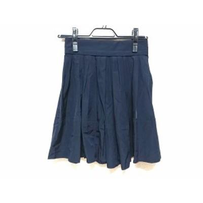 ジンジャーエール Gingerale ミニスカート サイズ1 S レディース ダークネイビー【中古】