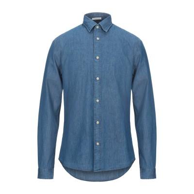SELECTED HOMME デニムシャツ ブルー S コットン 100% デニムシャツ