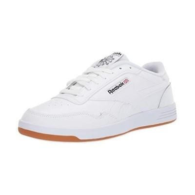 Reebok Men's Club MEMT Sneaker, White/Black Rubber gum-01, 10 M US【並行輸入品】