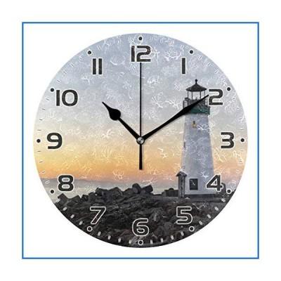 JUMBEAR 灯台 壁掛け時計 カチッとは音が出ない サイレントアート時計 リビングルーム ベッドルーム オフ