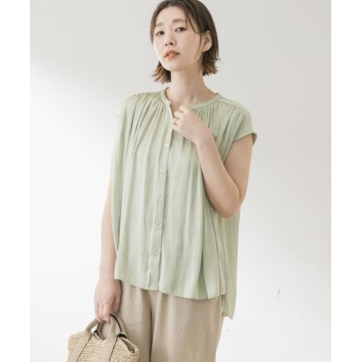 URBAN RESEARCH ROSSO WOMEN / F by ROSSO フレンチギャザーブラウス WOMEN トップス > シャツ/ブラウス