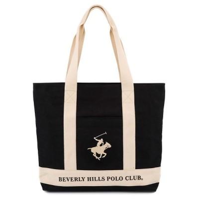 BEVERLY HILLS POLO CLUB ビバリーヒルズポロクラブ トートバッグ BHC003 TOTO レディース BK/IV/WH ブラック×アイボリー×ホワイト