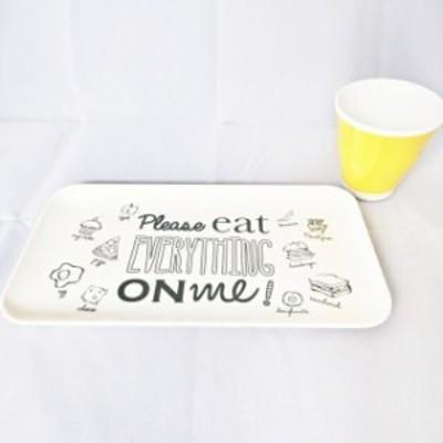PLEASE EAT EVERYTHING ON ME! メラミントレイ M
