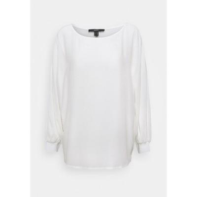 エスプリ シャツ レディース トップス Blouse - off white