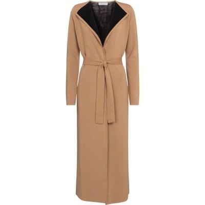 ガブリエラ ハースト Gabriela Hearst レディース コート アウター nancy wool, cashmere and silk coat Camel/Black