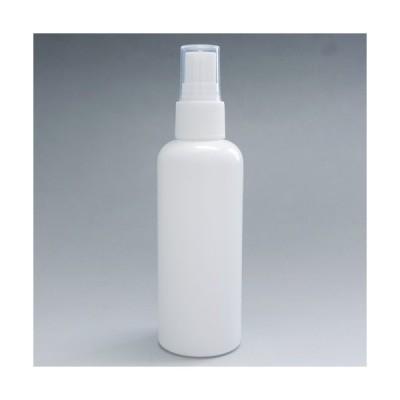 スプレータイプ・PEボトル100ml(ホワイト) アルコール対応