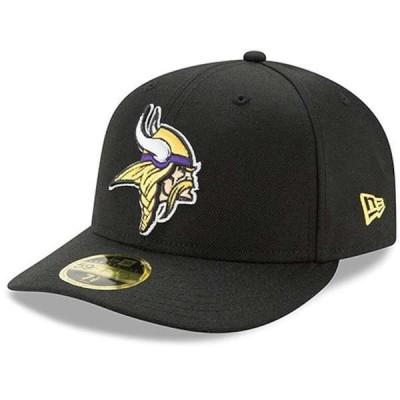 ニューエラ メンズ 帽子 アクセサリー Minnesota Vikings New Era Omaha Low Profile 59FIFTY Structured Hat