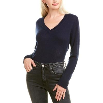 ハンナローズ ニット&セーター アウター レディース Hannah Rose Easy Body Cashmere Sweater navy