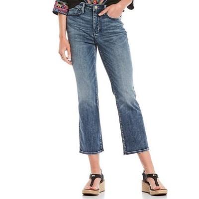 エヌワイディージェイ レディース デニムパンツ ボトムス Slim Bootcut Ankle Jeans