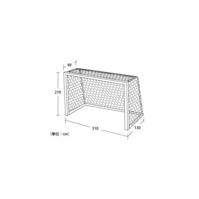 エバニュー ハンドボール ハンドゴールネット ハンドゴールネット検定亀甲H101 EVERNEW EKE830