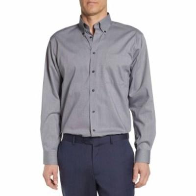 ノードストローム NORDSTROM MENS SHOP メンズ シャツ トップス Classic Fit Non-Iron Dress Shirt Grey Castlerock