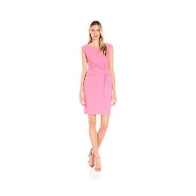 ドレス アンクライン Anne Klein レディース ドレス・ワンピース 10607494 Heavy Matte Jersey Side. Peony