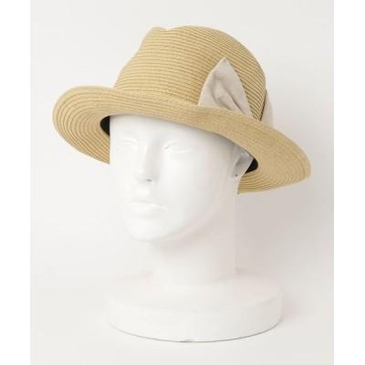帽子 ハット S.PAPER RIBBON HAT