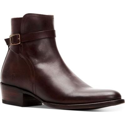 フライ Frye メンズ ブーツ シューズ・靴 Grady Jodphur Boots Brown